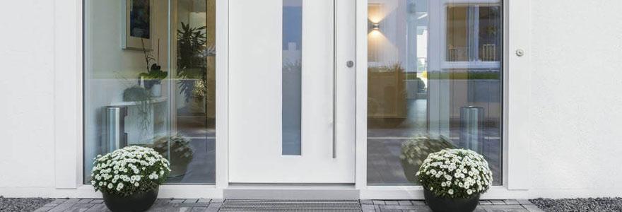 panneau de porte en PVC